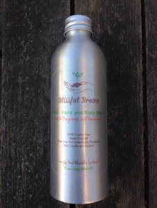 Organic Hair, Hand and Body Wash with Bergamot and Geranium